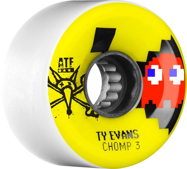 RUEDAS/WHEELS BONES WHEELS EVAN CHOMPED 3 ATF 62MM - Furtivo Skateboarding