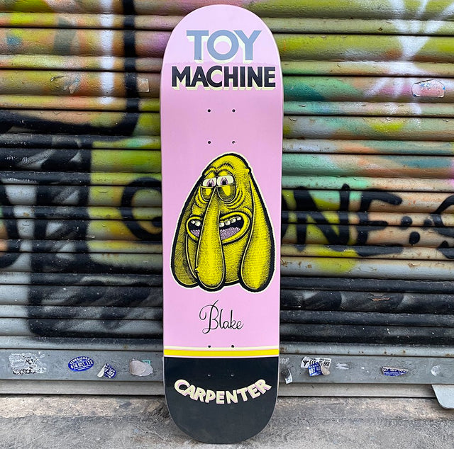 Toy Machine 8.13 Carpenter Pen n Ink Skateboard Deck- Tabla Skate Tabla/Deck Toy Machine