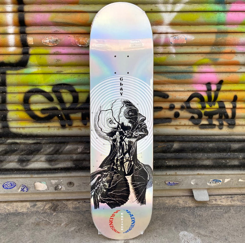 MADNESS Clay Inside Out Impact Light 8.25 Skateboard Deck-Tabla Skate Tabla/Deck Madness