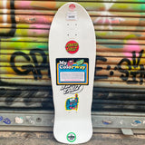 Santa Cruz O'BRIEN REAPER My Colorway Reissue 9.85 Purple Skateboard Deck- Tabla - Furtivo! Skateboarding