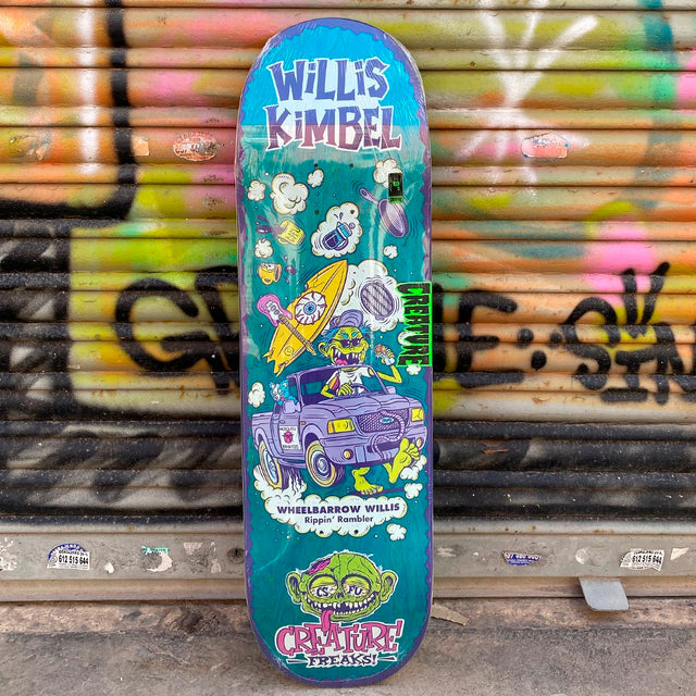 Creature Kimbel Freaks 9.0 Skateboard Deck - Tabla Skate Tablas Creature Skateboards
