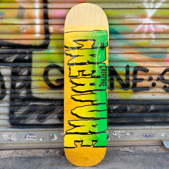 Creature Skateboards Logo Stumps 8.0 Skateboard Deck- Tabla Skate Tablas Creature Skateboards