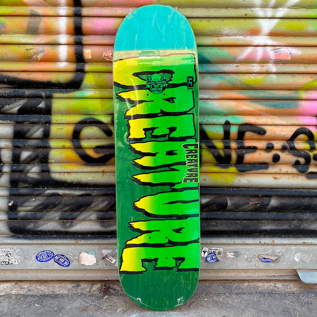 Creature Skateboards Logo Stumps 8.51 Skateboard Deck- Tabla Skate - Furtivo! Skateboarding