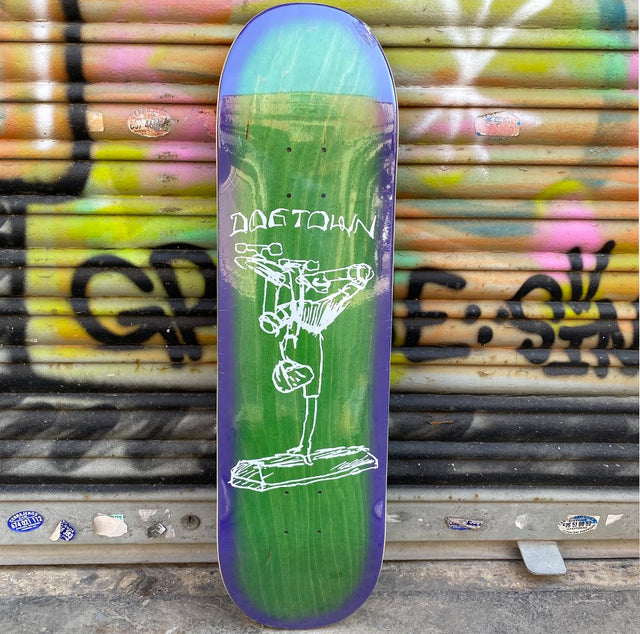 DOGTOWN Curb Plant Mark Gonzales 8.5 Skateboard Deck- Tabla Skate Tablas Dogtown Skateboards