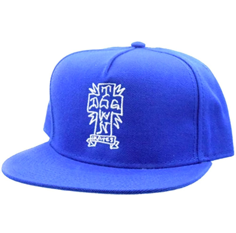 Dogtown Hat Gonz Snapback Blue- Gorras Gorras Dogtown Skateboards