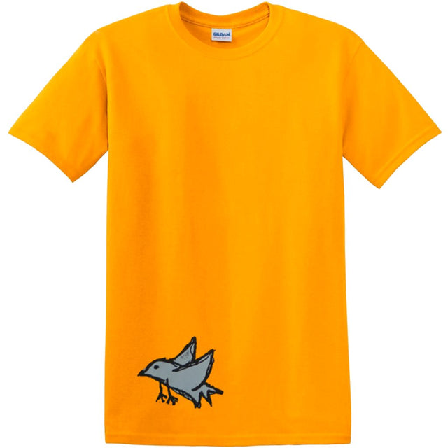 Dear Foundation Bird Shirt Gold- Camiseta - Furtivo! Skateboarding