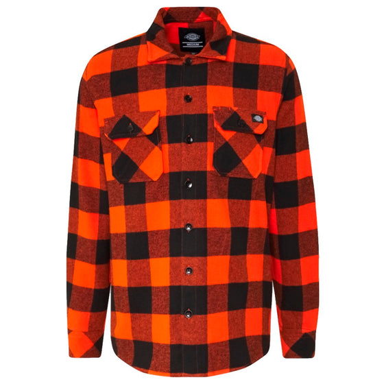 Dickies Sacramento Relaxed Long Sleeve naranja- Camisa - Furtivo! Skateboarding