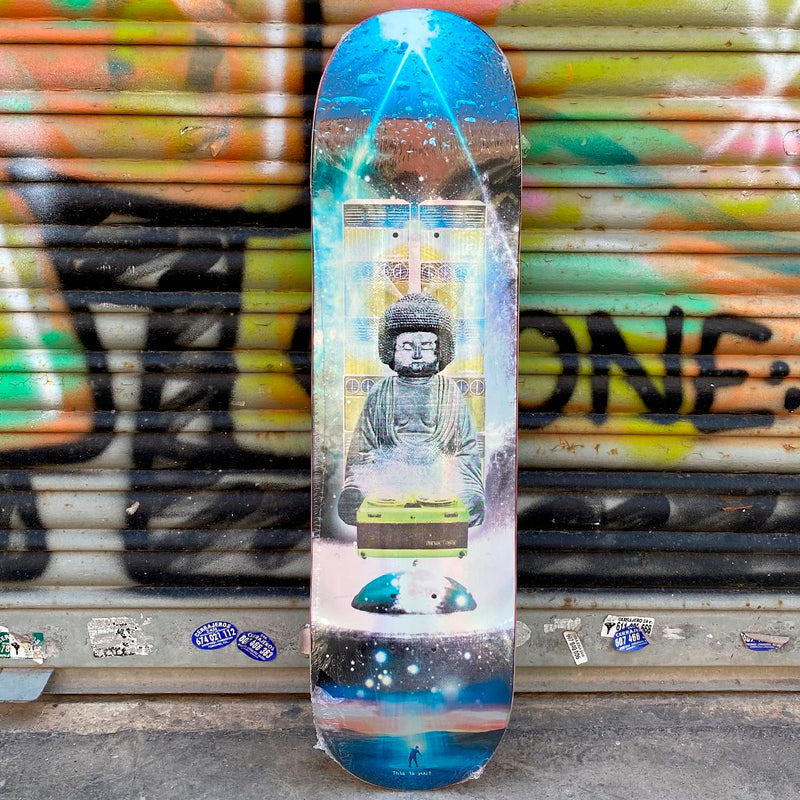 Evisen Skateboards Dj Afro Budha 8.1 Skateboard Deck- Tabla Skate - Furtivo! Skateboarding