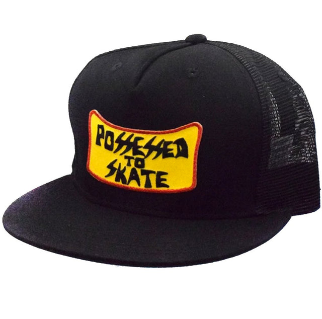 Dogtown Suicidal Skates Possessed to skate patch Snapback Hat Black- Gorras Gorras Dogtown Skateboards