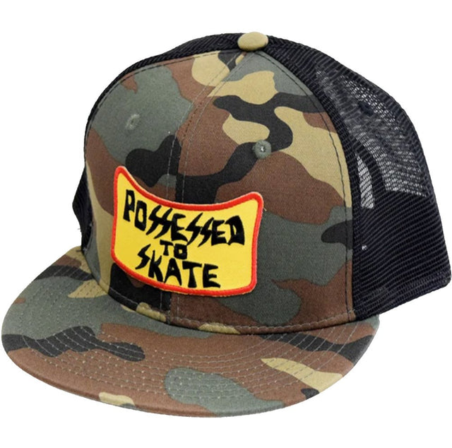Dogtown Suicidal Skates Possessed to skate patch Snapback Hat Camo- Gorras Gorras Dogtown Skateboards