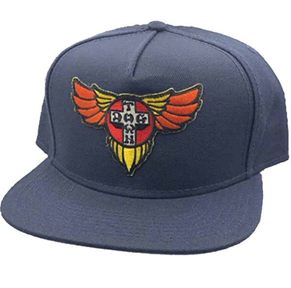Dogtown Wings Patch Mesh Black- Gorras Gorras Dogtown Skateboards