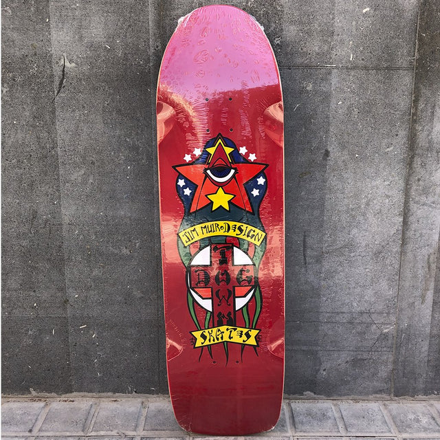 DOGTOWN Jim Muir Triplane Pool Skateboard Deck- Tabla Skate - Furtivo! Skateboarding