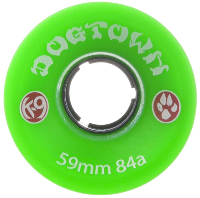 Dogtown wheels k-9 Mini Cruiser 59mm 84A Neon Green - Ruedas Ruedas Dogtown Skateboards