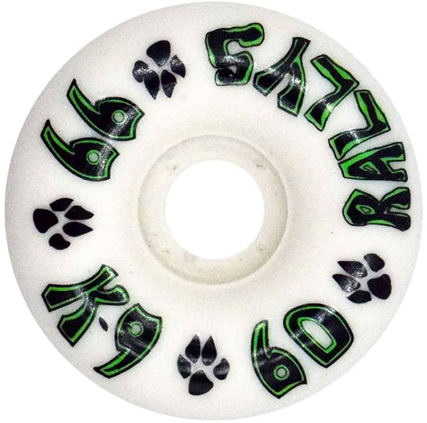 Dogtown wheels k-9 Rallys 60mm 99a White - Ruedas Ruedas Dogtown Skateboards