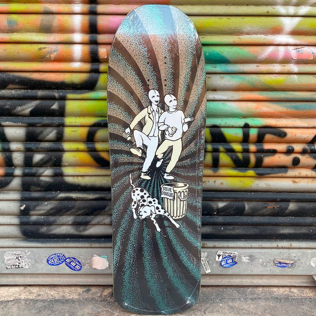 New Deal Douglas Chum  Metallic Heat Transfer Reissue Skateboard Deck- Tabla Skate - Furtivo! Skateboarding