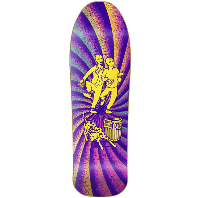 New Deal Douglas Chum Neon Heat Transfer Reissue Skateboard Deck- Tabla Skate - Furtivo! Skateboarding