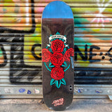 Santa Cruz Dressen Rose Cross Powerply 9.0 Skateboard Deck- Tabla Skate - Furtivo! Skateboarding