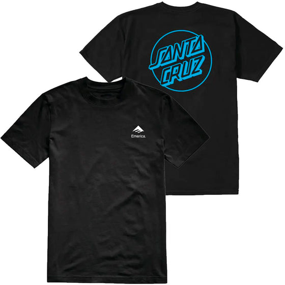 Emerica X Santa Cruz Drop Tee- T-shirt - Furtivo! Skateboarding