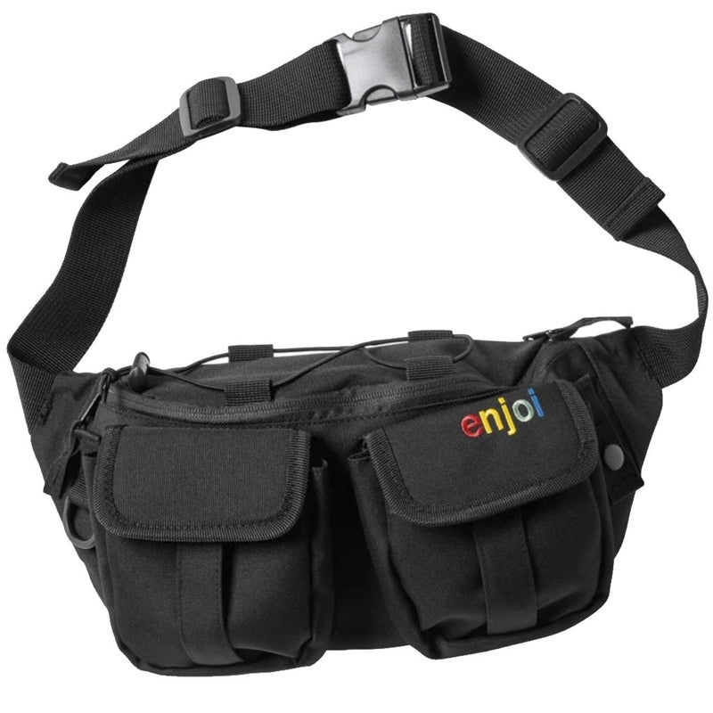 Enjoi hip egg bag Black fanny pack- Accesorios - Furtivo! Skateboarding