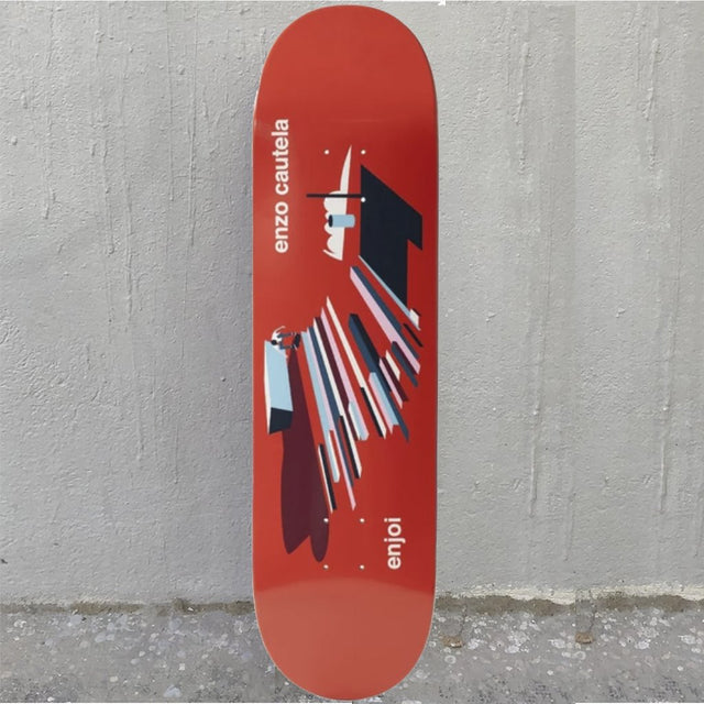 Enjoi Enzo Spot Check 8.375 R7 Skateboard Deck- Tabla Skate - Furtivo! Skateboarding