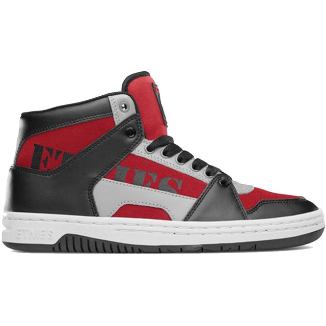Etnies Mc Rap High Black/Red/Grey Zapatillas Skateboard- Shoes - Furtivo! Skateboarding