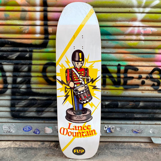 Flip Skateboards Lance Mountain Tiny Toys 9 x 32.57 Skateboard Deck - Tabla - Furtivo! Skateboarding