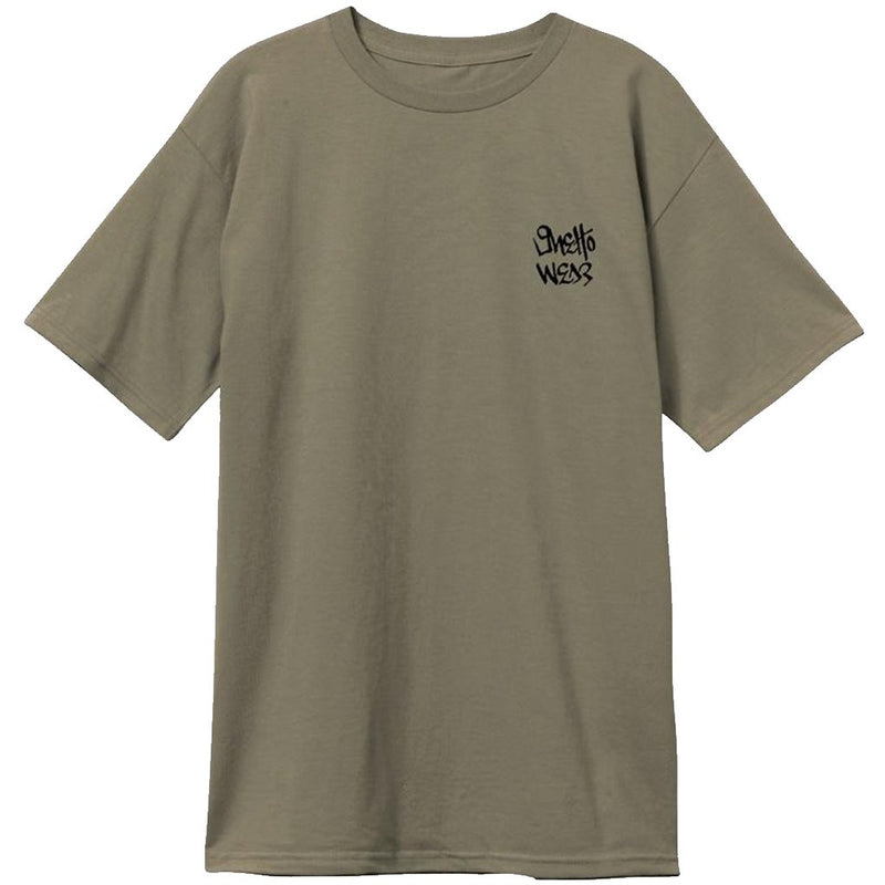 Ghetto Wear Embroidered SS Reissue T shirt- Camiseta - Furtivo! Skateboarding