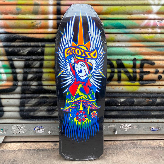 "Black Label 10.25 GROSSO ""FOREVER"" 1989 reissue BLACK DIP- Tabla Skate Tablas Black Label"