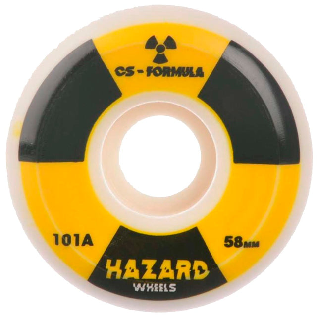 Hazard Wheels Radio Active Skateboard Wheels- Ruedas Ruedas Hazard Wheels