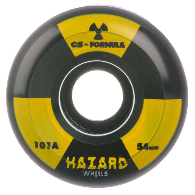 Hazard Wheels Radio Active 54mm Black Skateboard Wheels- Ruedas Ruedas Hazard Wheels