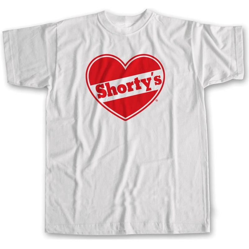 Shorty's Hearth White -Camiseta - Furtivo! Skateboarding