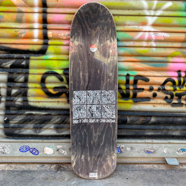 Heroin Skateboards CQ Dance of death Skateboard Deck- Tabla Skate Tabla/Deck Heroin Skateboards
