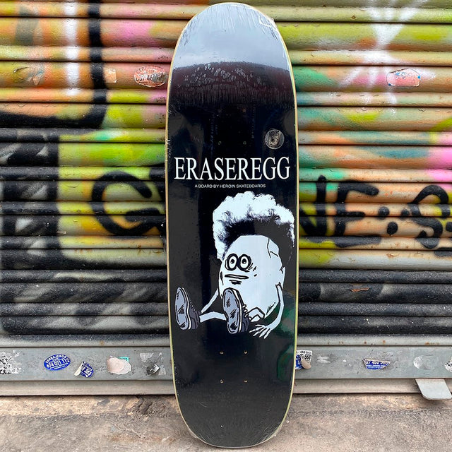 Heroin Skateboards Eraser Egg 8.9 Skateboard Deck- Tabla Skate Tabla/Deck Heroin Skateboards
