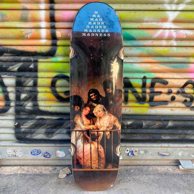 MADNESS Holgraphic Creeper R7 8.5 Skateboard Deck-Tabla Skate - Furtivo! Skateboarding