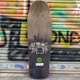 New Deal Howell Tricicle Metallic Heat Transfer Reissue Skateboard Deck- Tabla Skate - Furtivo! Skateboarding