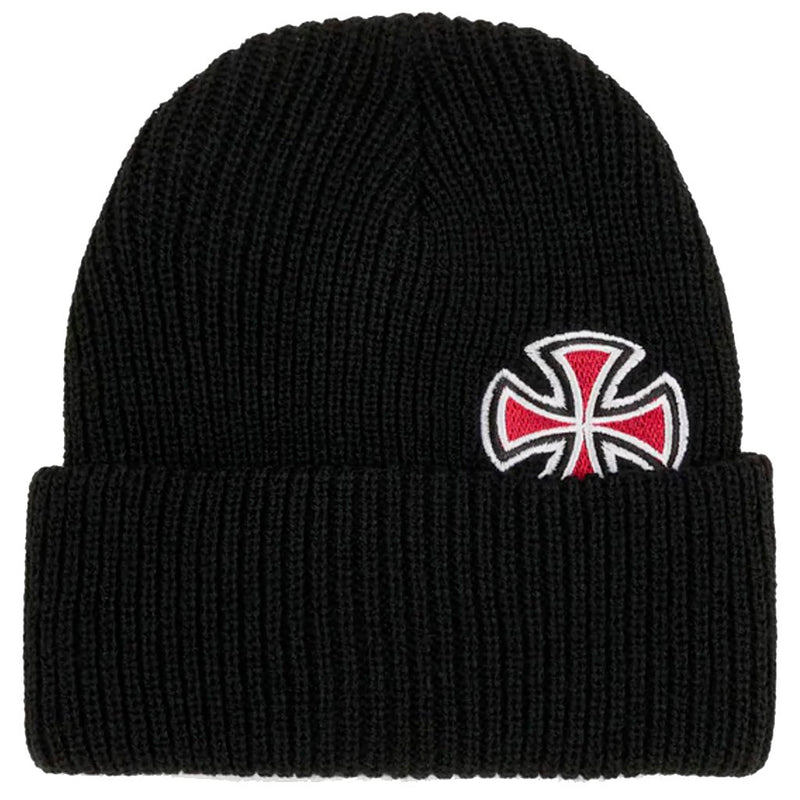 Independent Beanie Solo Cross Black- Gorras - Furtivo! Skateboarding