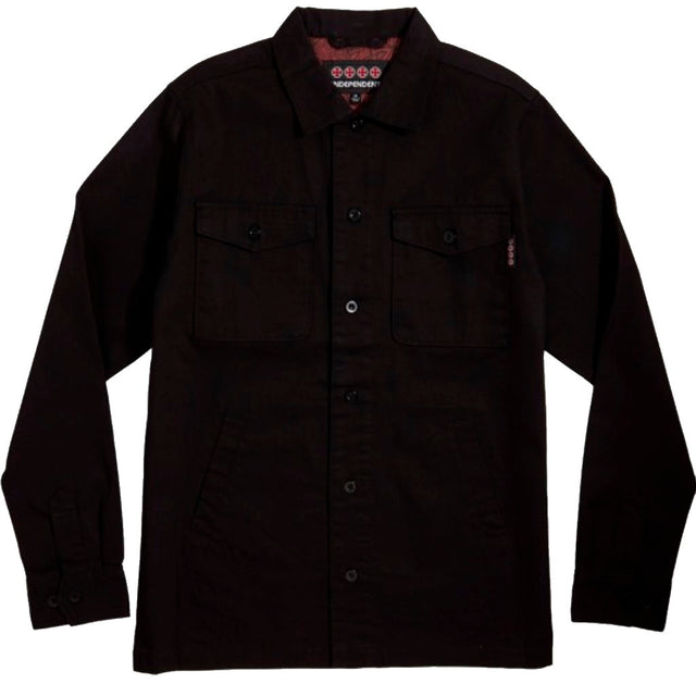 Independent Toil Work Black Jacket-Chaqueta - Furtivo! Skateboarding
