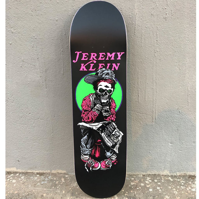 Jk Industries Black Eye Kid Skull Black Matte Skateboard Deck -Tabla Skate - Furtivo! Skateboarding