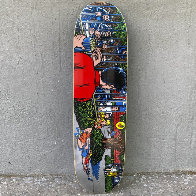 101 Skateboards Eric Koston Zoo Screen Printed 8.78 Reissue Skateboard Deck -Tabla Skate - Furtivo! Skateboarding