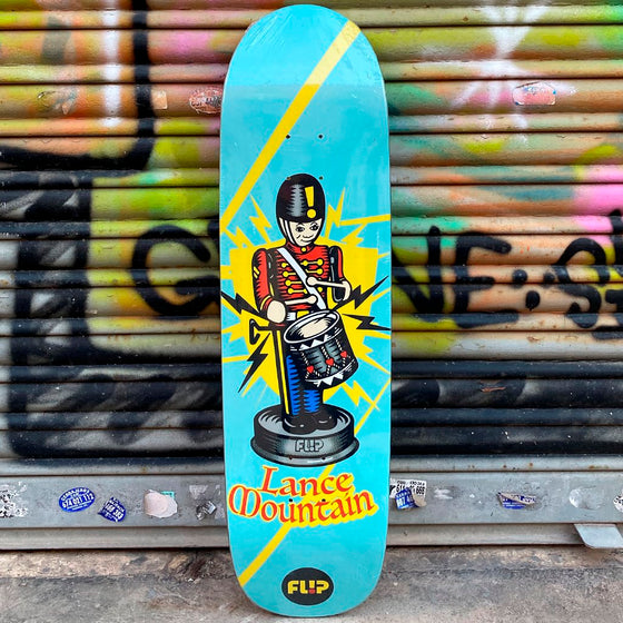 Flip Skateboards Lance Mountain Tiny Toys 8.75 x 31.875 Skateboard Deck - Tabla - Furtivo! Skateboarding