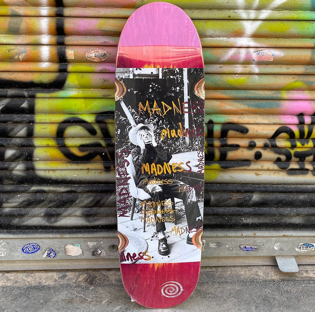 MADNESS Column R7 9.0 Skateboard Deck-Tabla Skate Tabla/Deck Madness