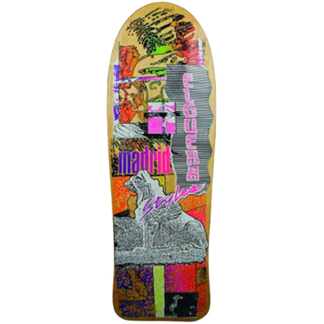 Madrid Skateboards Elguera El Gato Styles OG Reissue Skateboard Deck- Tabla - Furtivo! Skateboarding