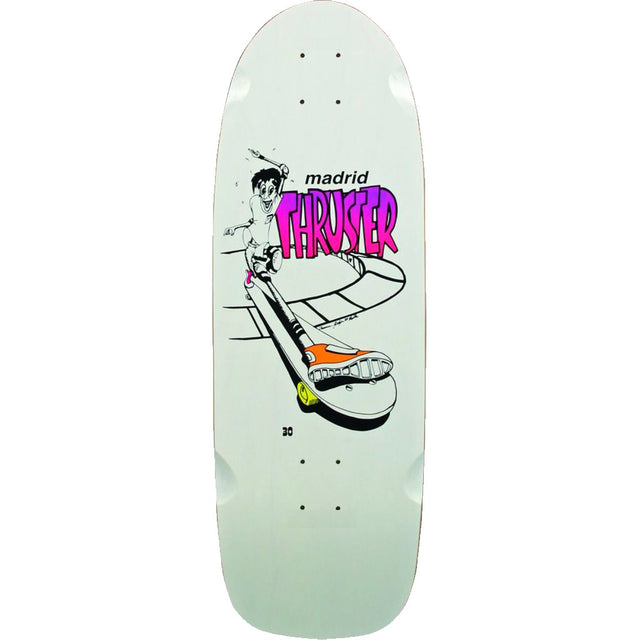 Madrid Skateboards Thruster OG Reissue Skateboard Deck- Tabla - Furtivo! Skateboarding