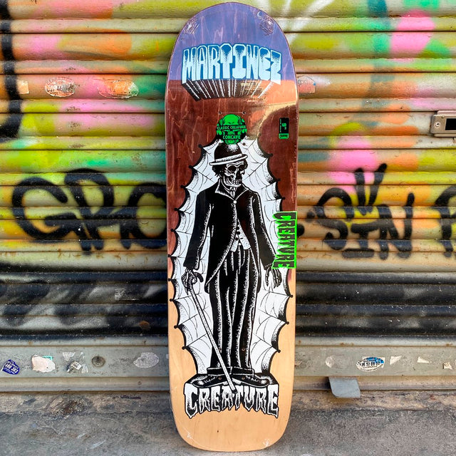 Creature Skateboards Martinez The Immigrant 8.99 Skateboard Deck- Tabla Skate - Furtivo! Skateboarding