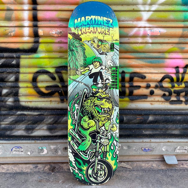 Creature Martinez Playa 8.6 Skateboard Deck - Tabla Skate Tablas Creature Skateboards