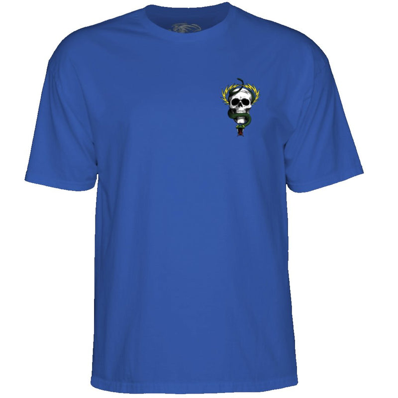 Powel Peralta McGill Skull and Snake T-Shirt Royal- Camiseta - Furtivo! Skateboarding