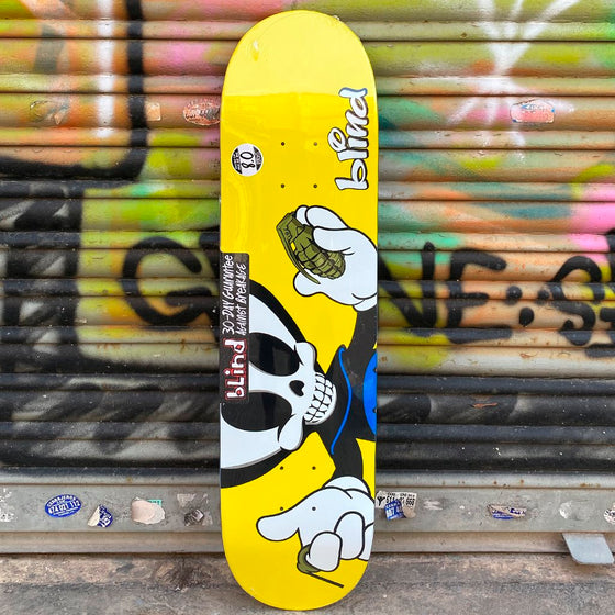 Blind Reaper Character Papa R7 8.0 Skateboard Deck -Tabla Tablas Blind Skateboards