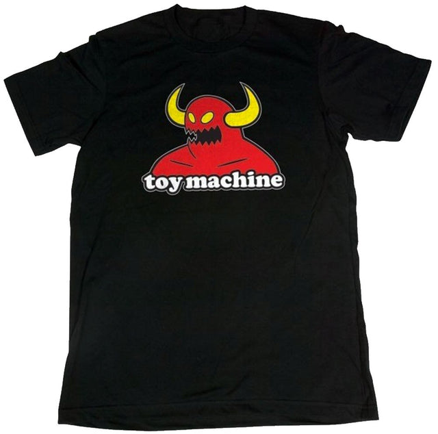 Toy Machine Monster Black T-Shirt- Camiseta Ropa Toy Machine