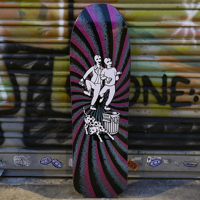 New Deal Douglas Chum Screen Printed Reissue Skateboard Deck- Tabla Skate - Furtivo! Skateboarding