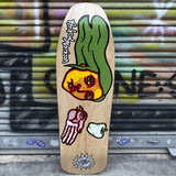 New Deal Morrison Bird Hand Screen Printed Reissue Skateboard Deck- Tabla Skate - Furtivo! Skateboarding